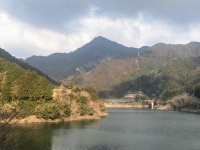 錫杖湖から錫杖ヶ岳