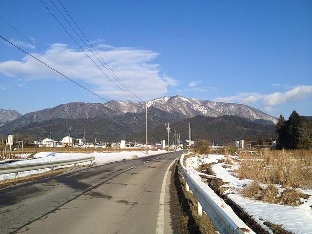 雪山初級者おすすめ!入道ヶ岳 二本松尾根~井戸谷