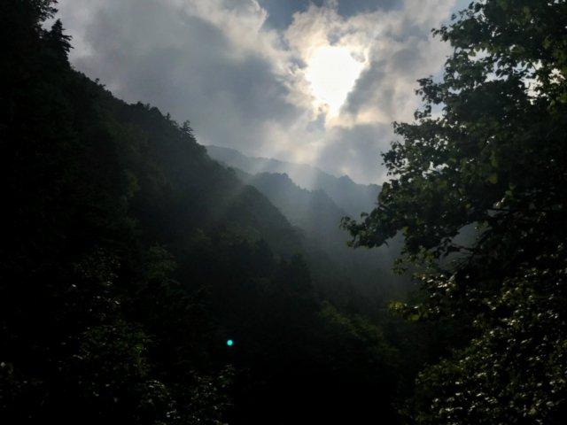 小秀山 ニノ谷登山道 展望台