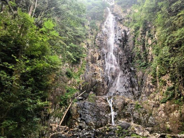 小秀山 ニノ谷登山道 夫婦滝