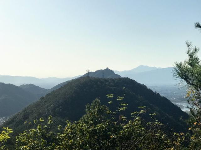 舟伏山 岩田山から金華山