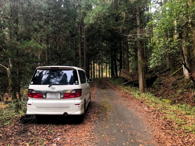 岩岳 駐車地