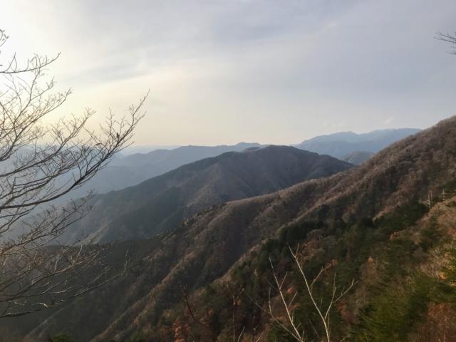 岩岳 ガレから倉見