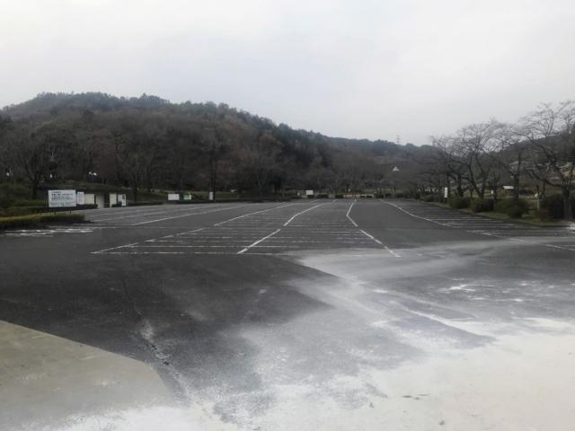 如来ヶ岳 畜産センター北駐車場