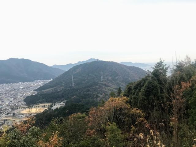 如来ヶ岳から眉山