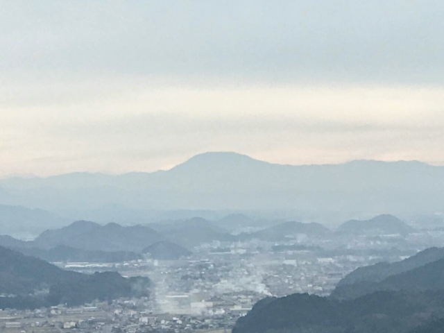 如来ヶ岳から恵那山