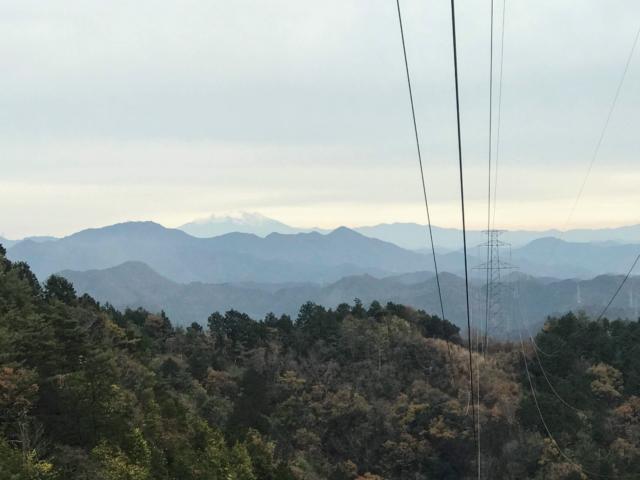 如来ヶ岳から御嶽山
