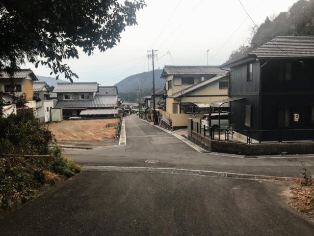如来ヶ岳 八幡神社ルート 住宅街