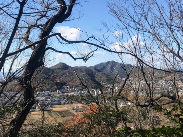 尾崎権現山 西町登山道から洞山・金華山