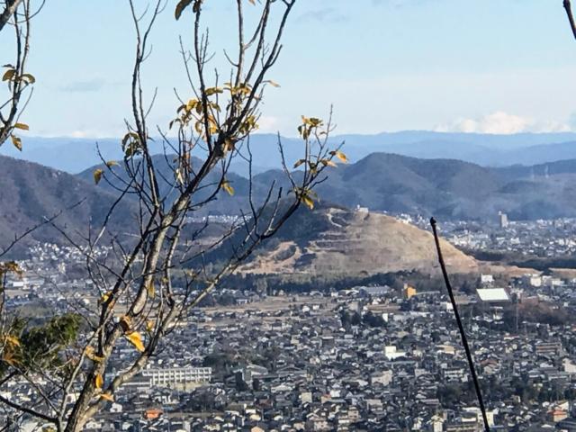 尾崎権現山 山頂から各務山