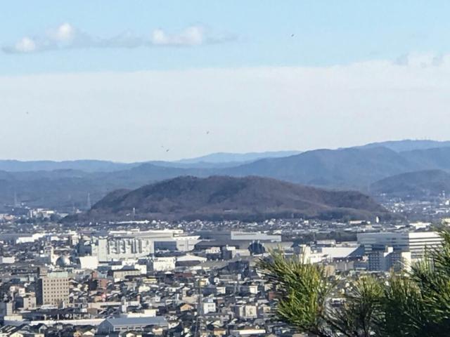 尾崎権現山 西展望台から伊木山