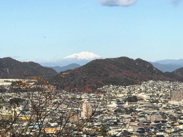 伊木山 キューピーの鼻 御嶽山