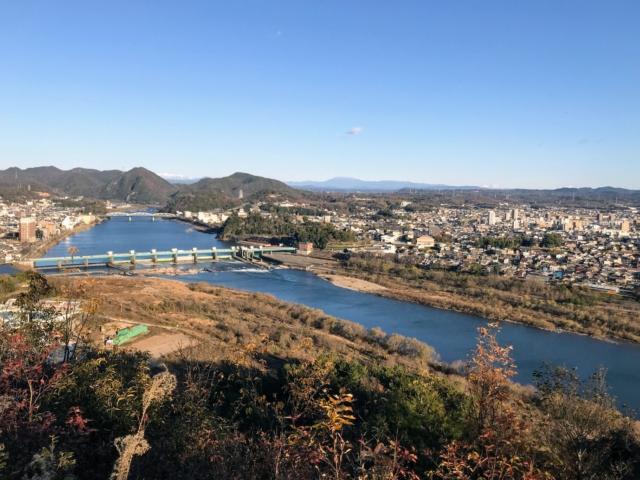 伊木山 キューピーの鼻 鳩吹山から恵那山