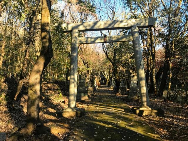 伊木山 熊野神社 鳥居