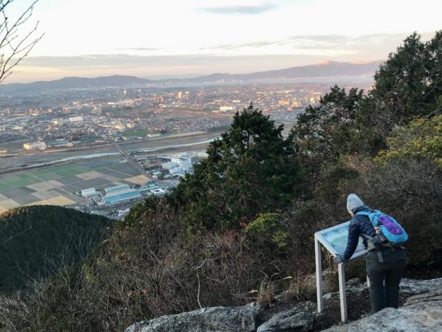 三上山 展望台からの眺望