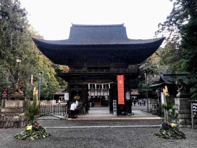 三上山 御神神社 桜門