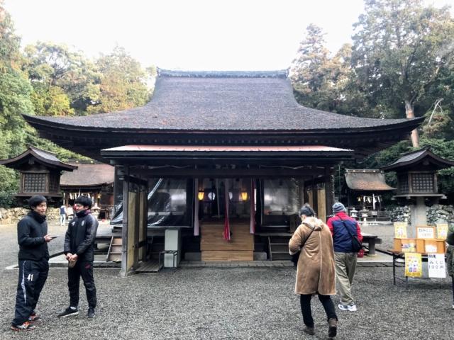 三上山 御神神社 拝殿