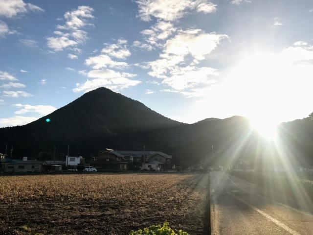 三上山 遠景