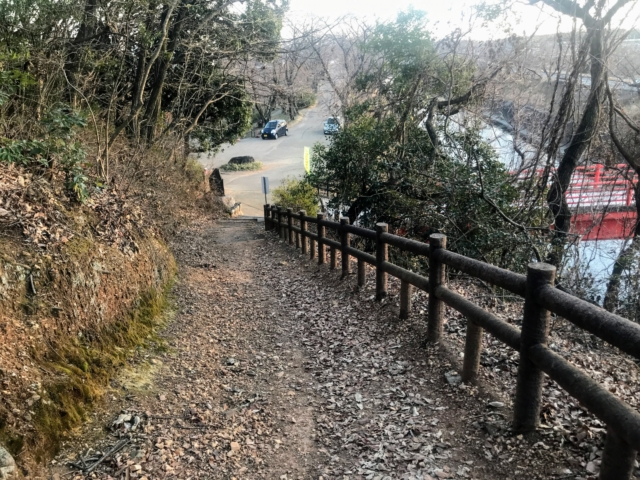 三井山 北回り登山道