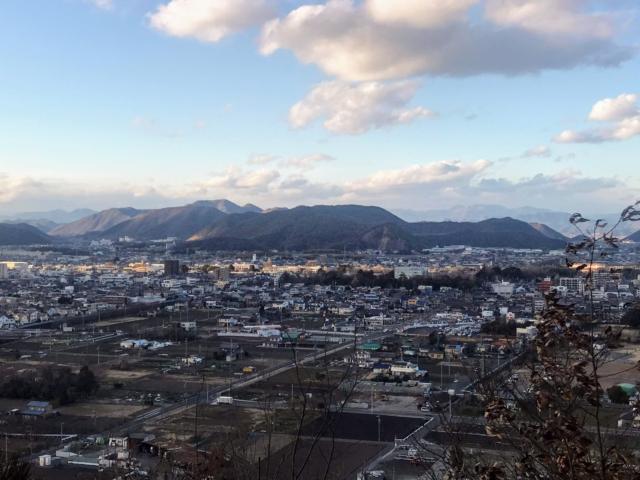 三井山 山頂から尾崎権現山・尾崎三峰山