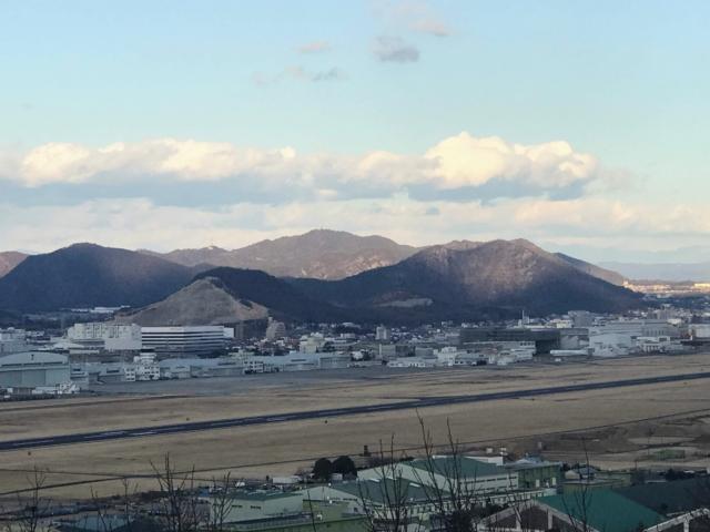 三井山 山頂から明王山