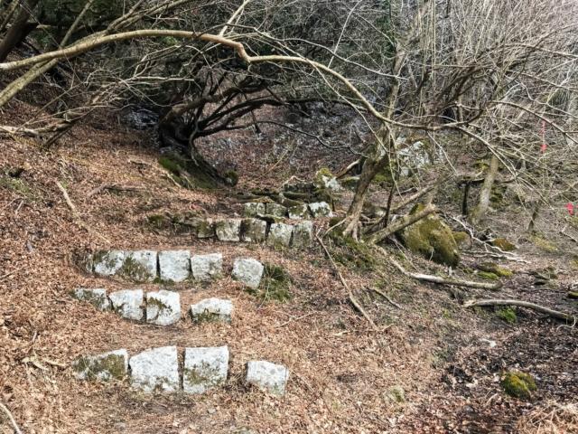 霊山 霊山寺ルート 石段