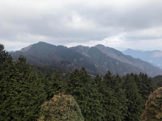 経ヶ峰 笹子谷ルート 北笠岳