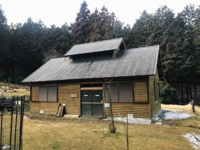 経ヶ峰 笹子谷ルート 山小屋