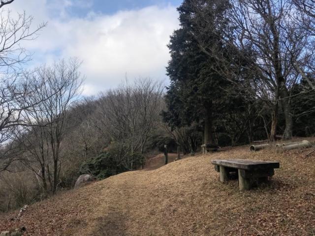 霊山 霊山寺ルート ベンチ
