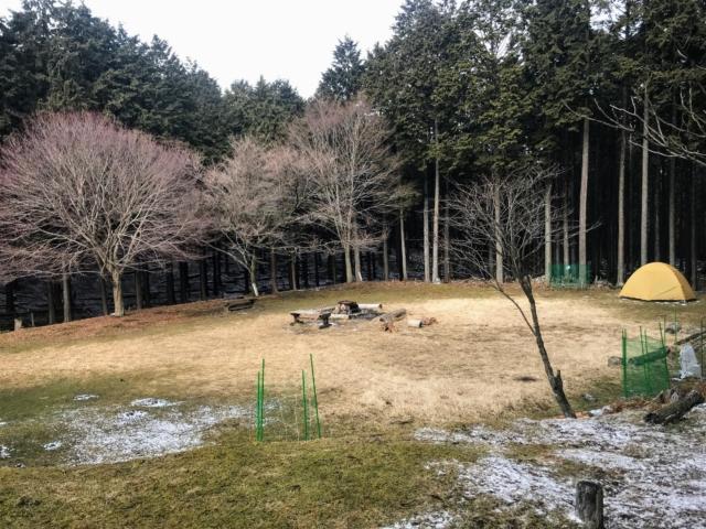 経ヶ峰 笹子谷ルート 山小屋 テント場