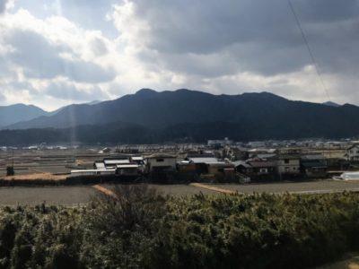 経ヶ峰 遠景