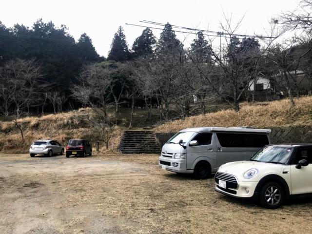 霊山 霊山寺 駐車場