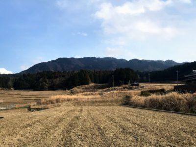 霊山 遠景