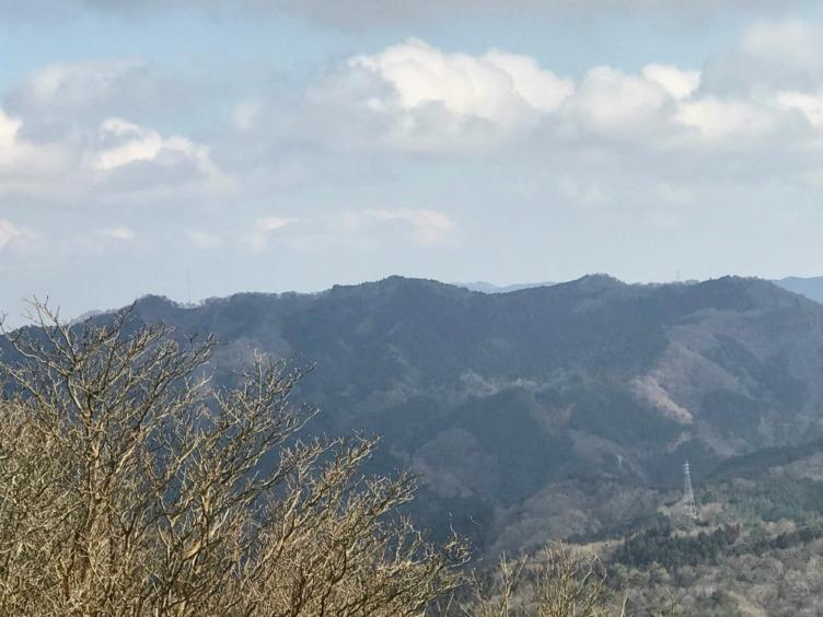 霊山 山頂からの眺望