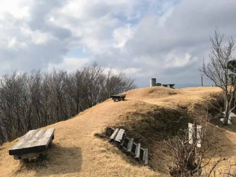 霊山 山頂