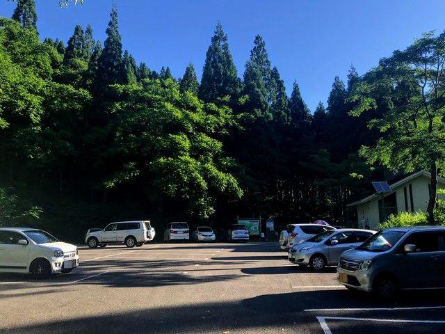 三ノ峰~別山 上小池駐車場