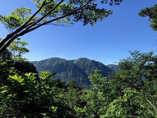 三ノ峰~別山 上小池ルート 願教寺山