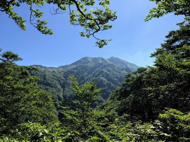 三ノ峰~別山 上小池ルート 六本檜から三ノ峰