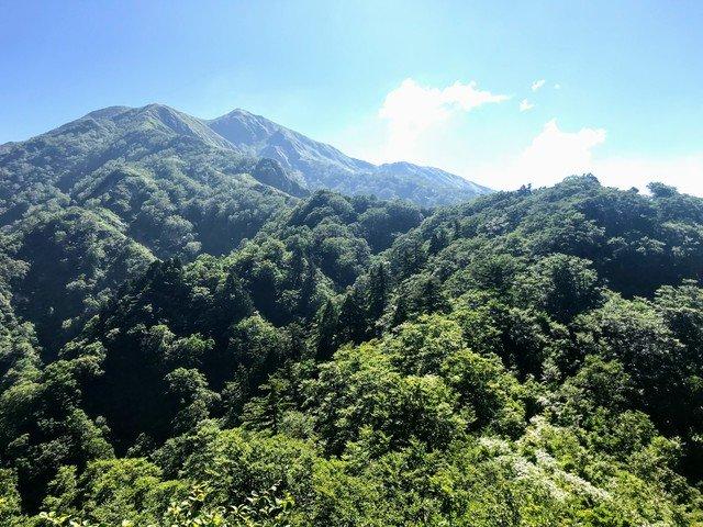 三ノ峰~別山 上小池ルート 三ノ峰