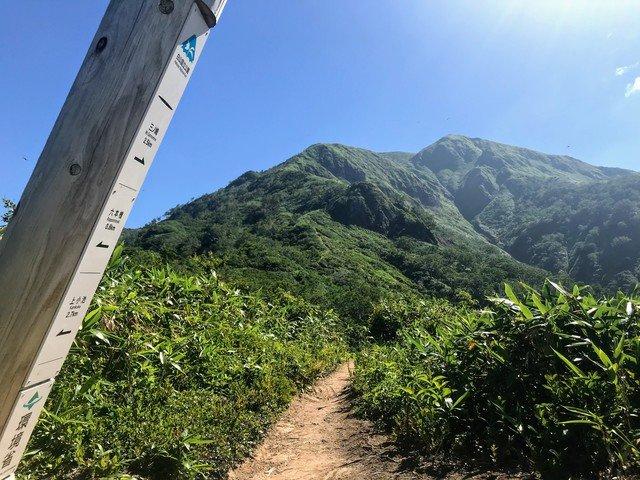 三ノ峰~別山 上小池ルート 案内板