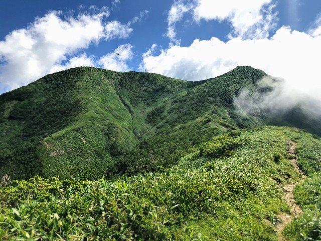 三ノ峰~別山 上小池ルート 展望ベンチ